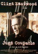 Affiche Jugé coupable
