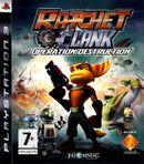 Jaquette Ratchet & Clank : Opération Destruction