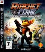 Jaquette Ratchet & Clank : Opération Destruction