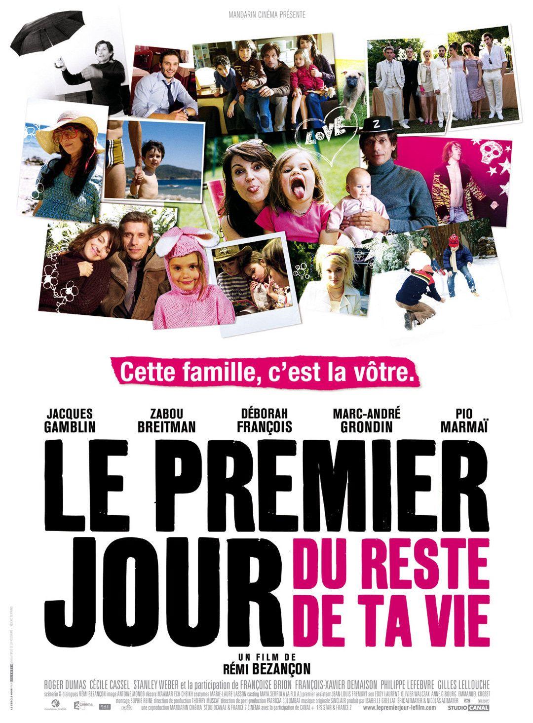 Le premier jour du reste de ta vie film 2008 senscritique - Le gout du jour moulins ...