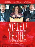 Affiche Adieu Berthe, l'enterrement de mémé