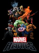 Jaquette Marvel Heroes