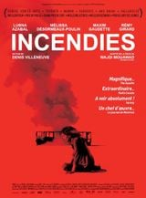 Affiche Incendies