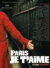 Affiche Paris, je t'aime