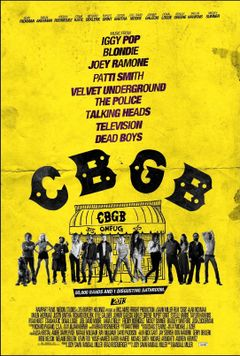 Affiche CBGB