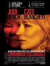 Affiche Chronique d'un scandale