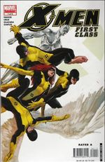 Couverture X-Men: First class