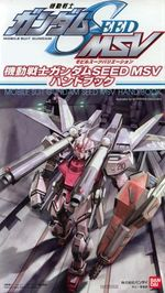Couverture Mobile Suit Gundam Seed MSV Handbook
