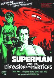 Affiche Superman contre l'Invasion des Martiens