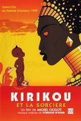 Affiche Kirikou et la Sorcière