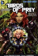 Couverture Your Kiss Might Kill - Birds of Prey, tome 2