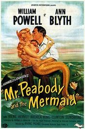 Affiche Mr. Peabody and the Mermaid