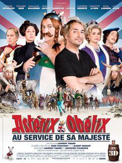 Affiche Astérix & Obélix : Au service de sa Majesté