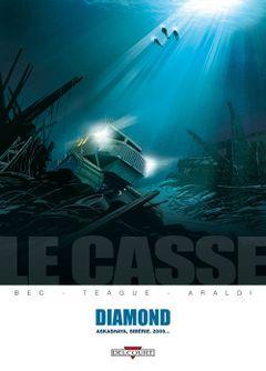 Couverture Diamond : Askashaya, Sibérie. 2009... - Le Casse, tome 1
