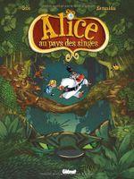 Couverture Alice au pays des singes, tome 1