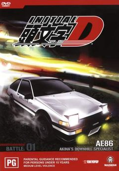 Affiche Initial D Battle Stage