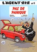 Couverture Pas de panique - L'agent 212, tome 8