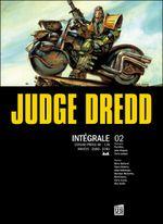 Couverture Judge Dredd - Intégrale 2