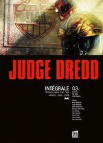 Couverture Judge Dredd - Intégrale 3
