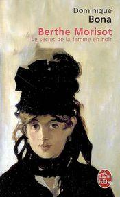 Couverture Berthe Morisot