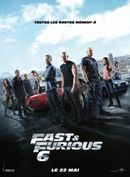 Affiche Fast & Furious 6