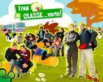 Affiche Trop la classe... verte !