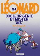 Couverture Docteur Génie et Mister Aïe - Léonard, tome 34