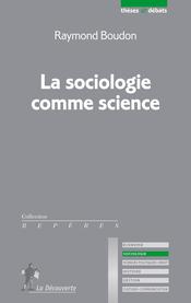 Couverture La Sociologie comme science