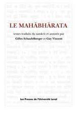 Couverture Le Mahabharata