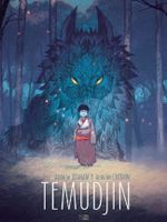 Couverture Temudjin, tome 1