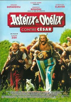 Affiche Astérix & Obélix contre César