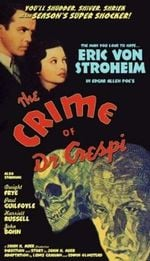 Affiche The Crime of Doctor Crespi