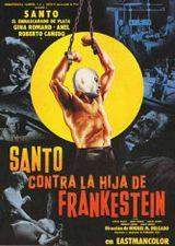 Affiche Santo vs. la hija de Frankenstein