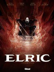 Couverture Le Trône de rubis - Elric, tome 1