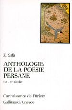 Couverture Anthologie de la poésie persane