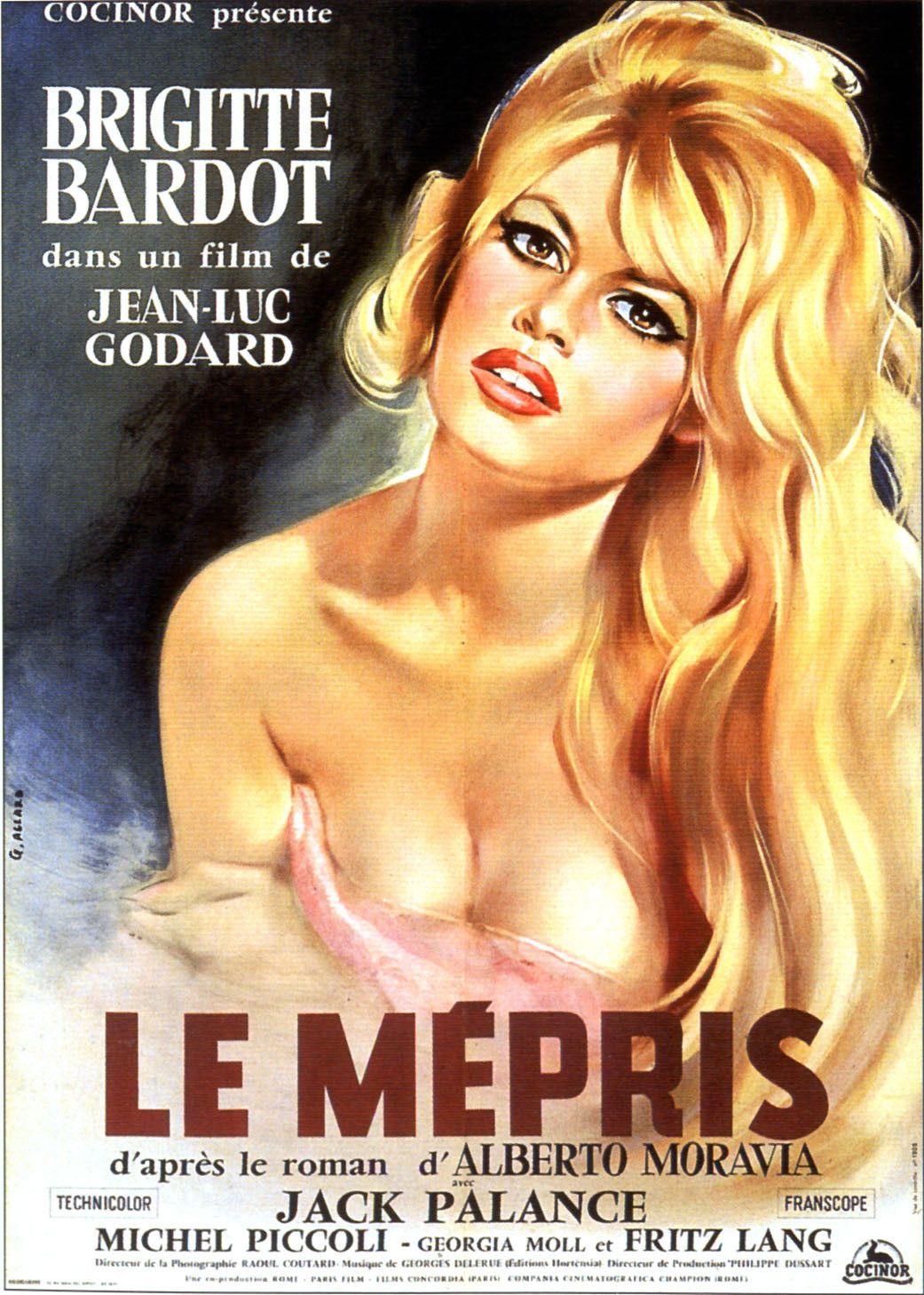 Le Mépris - de Jean-Luc Godard