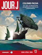 Couverture Colomb Pacha - Jour J, tome 13