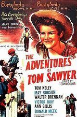 Affiche Les Aventures de Tom Sawyer