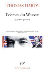 Couverture Poèmes du Wessex