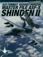 Couverture Ace Combat : Assault Horizon - Master File ASF-X Shinden II
