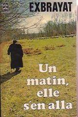 Romans Un_matin_elle_s_en_alla