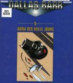 Couverture Anna des Mille Jours - Dallas Barr, Tome 5