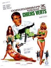 Affiche Commissaire X traque les chiens verts