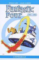 Couverture 1961-1962 - Fantastic Four : L'Intégrale, tome 1