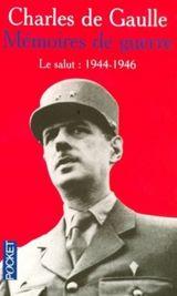 Couverture Le Salut 1944-1946 - Mémoires de guerre, tome 3