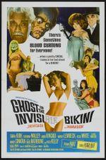 Affiche The Ghost in the Invisible Bikini