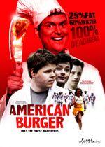 Affiche American Burger