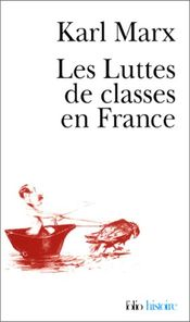 Couverture Les Luttes de classes en France