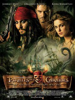 Affiche Pirates des Caraïbes : Le Secret du coffre maudit