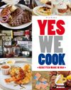 Couverture Yes we cook ! : Recettes made in USA